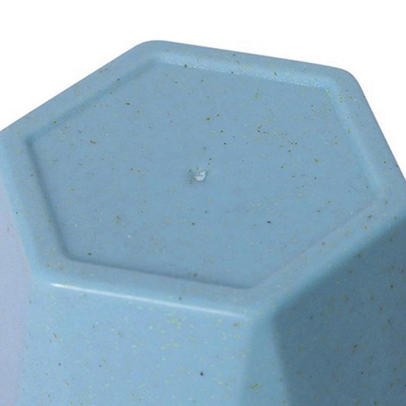 Tasse-En-Plastique-De-Paille-Verte-Style-Nordique-Tasse-De-Support-De-Bross-P1F3 miniature 4