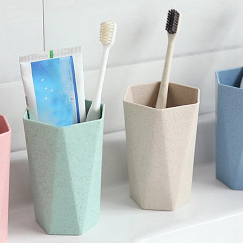 Tasse-En-Plastique-De-Paille-Verte-Style-Nordique-Tasse-De-Support-De-Bross-P1F3 miniature 13