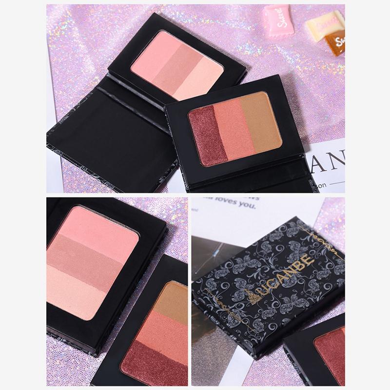 Ucanbe-Mineral-Blush-Make-Up-Palette-Face-Cheek-Blusher-Shading-Shadow-Powde-2O9 thumbnail 6