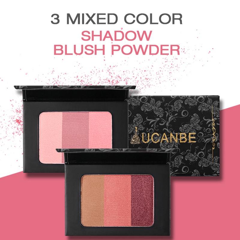 Ucanbe-Mineral-Blush-Make-Up-Palette-Face-Cheek-Blusher-Shading-Shadow-Powde-2O9 thumbnail 10