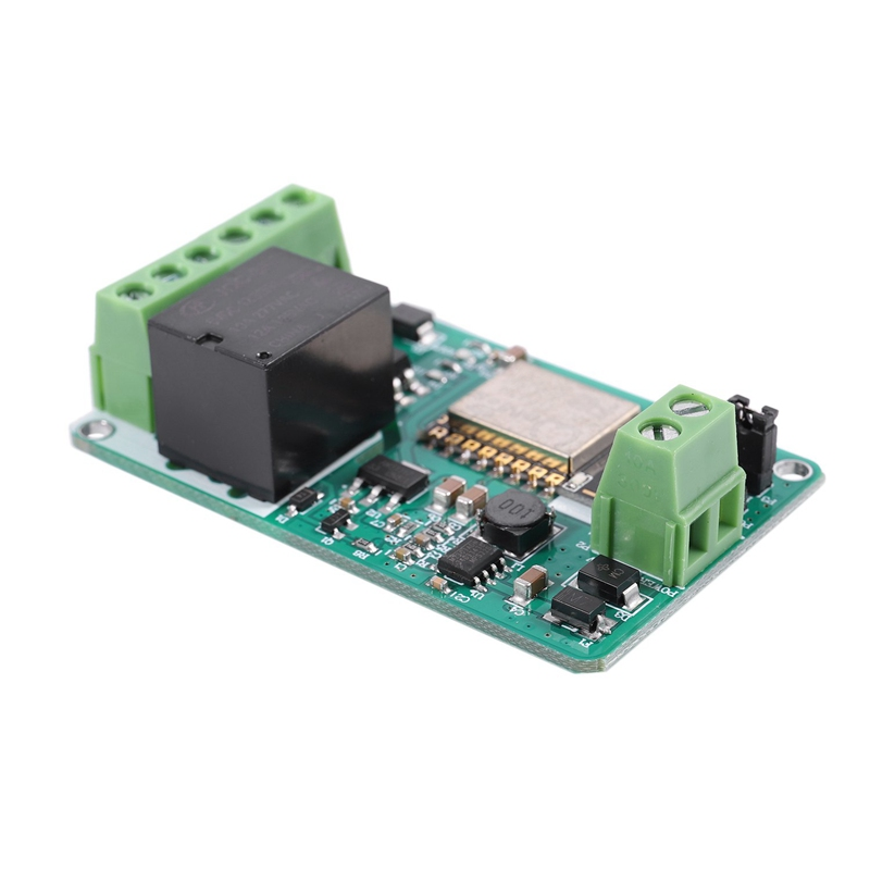 ESP8266 10A 220V Netzrelais WiFi Modul Eingang DC 7V ~ 30V 65 x 40 x 18mm X5M8