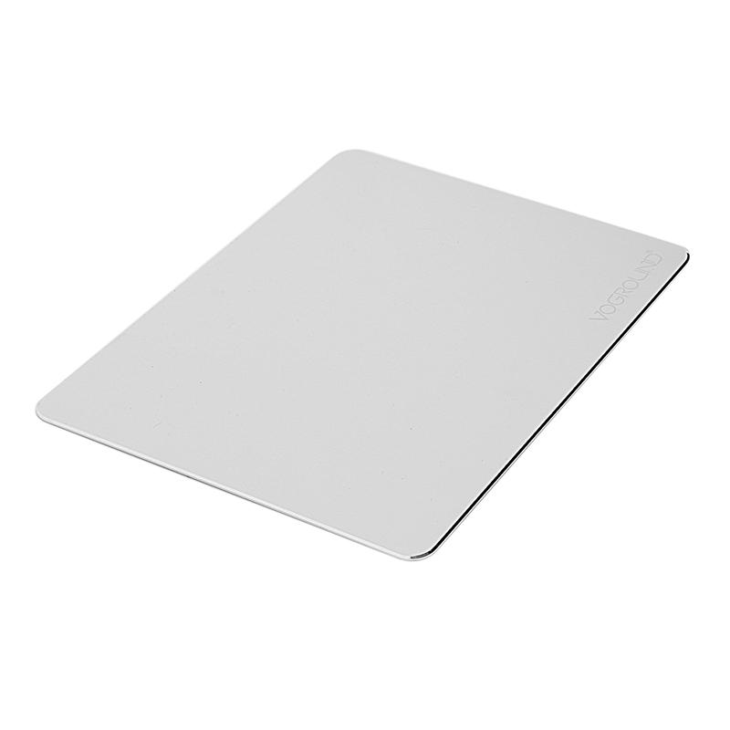 Voground-Tapis-De-Souris-En-Aluminium-Argente-Dur-Double-Face-Ultra-Mince-De-j1y miniature 4