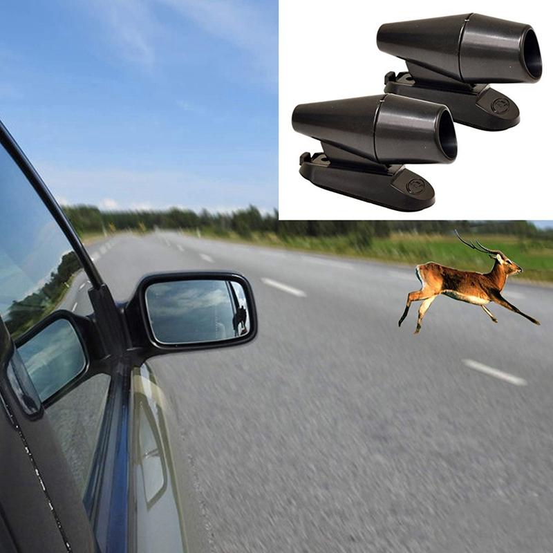 4-Pcs-Save-A-Deer-Deer-Alert-For-Vehicles-Black-Deer-Whistles-Deer-Warning-G6Q8 thumbnail 4
