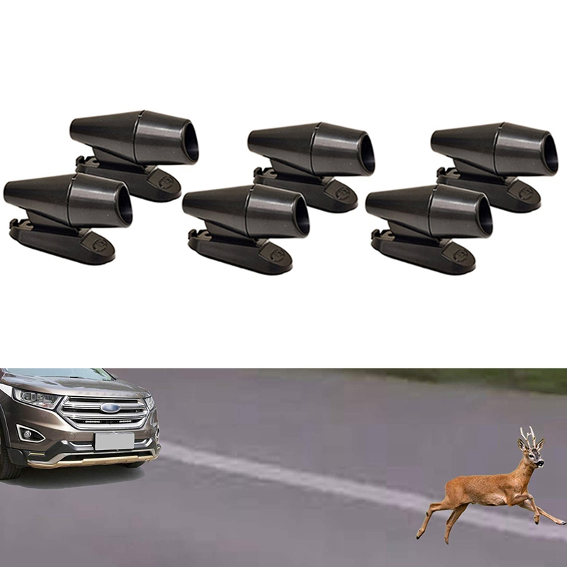 4-Pcs-Save-A-Deer-Deer-Alert-For-Vehicles-Black-Deer-Whistles-Deer-Warning-G6Q8 thumbnail 5
