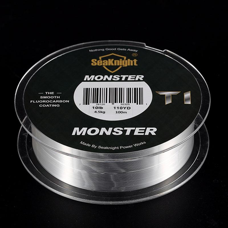 Seaknight-T1-100-Fluorocarbon-Coating-Fishing-Line-100M-Monofilament-Fishin-5A9 miniature 10