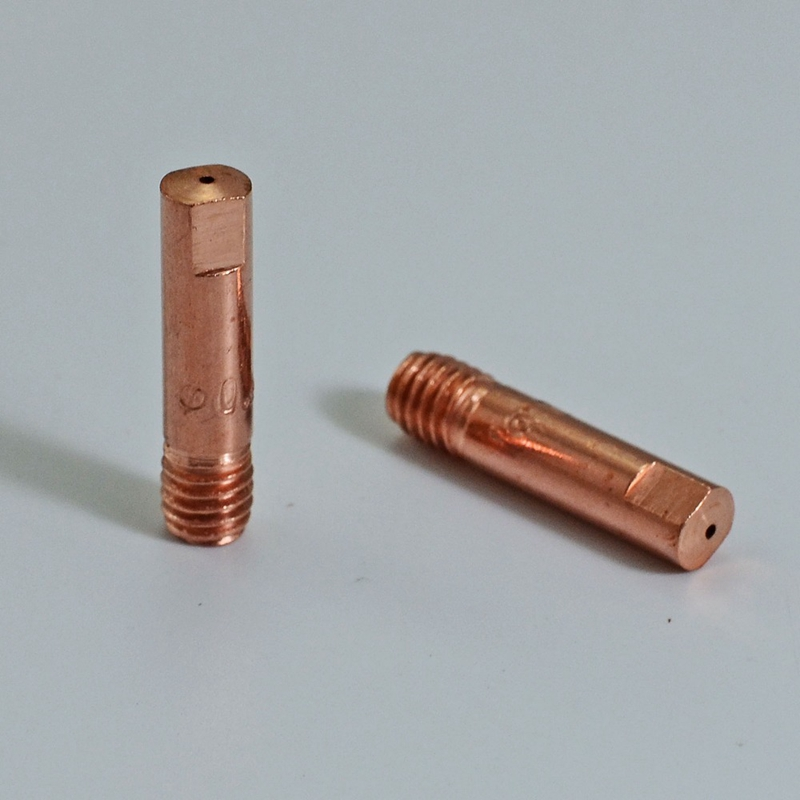 Taille : 0.8mm 20pcs Cuivre Astuce for 15AK soudage MIG//MAG Consommables torche Contactez-Conseil