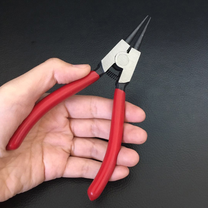 1Pc-Circlip-Pliers-Spring-Installation-Removal-Manual-Tool-Tip-Pliers-H2F7 thumbnail 5