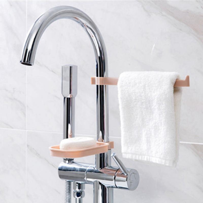 Hanging-Storage-Rack-Storage-Holder-Sponge-Bathroom-Kitchen-Faucet-Clip-DisI2J3 thumbnail 14