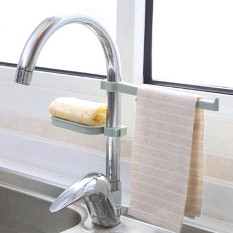 Hanging-Storage-Rack-Storage-Holder-Sponge-Bathroom-Kitchen-Faucet-Clip-DisI2J3 thumbnail 15