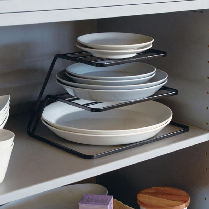 2-Tier-Dish-Rack-Stainless-Steel-Kitchen-Dish-Drainer-Cup-And-Dish-OrganizeV6W1 thumbnail 6