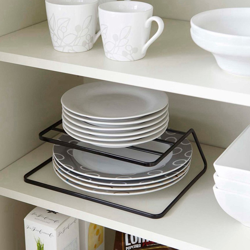 2-Tier-Dish-Rack-Stainless-Steel-Kitchen-Dish-Drainer-Cup-And-Dish-OrganizeV6W1 thumbnail 10