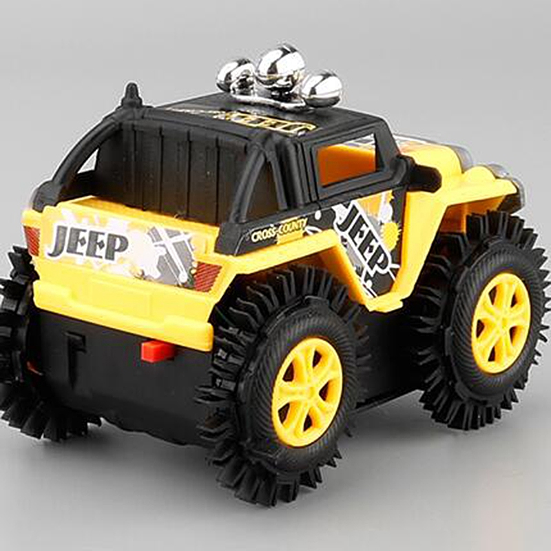 1Pcs-Electrico-Mini-Camion-Volquete-Camion-De-Carretera-Coche-De-Escalada-D-U3R3 miniatura 5