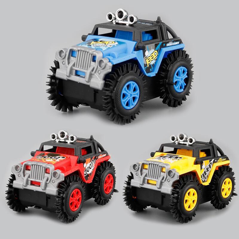 1Pcs-Electrico-Mini-Camion-Volquete-Camion-De-Carretera-Coche-De-Escalada-D-U3R3 miniatura 19
