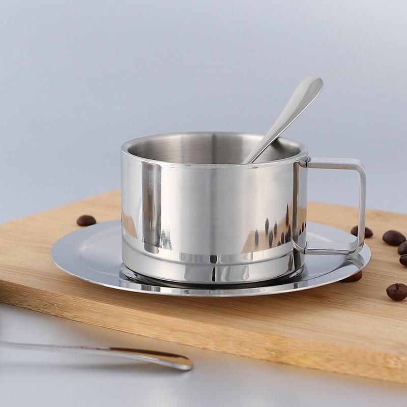 2X-Stainless-Steel-Tea-Coffee-Mug-Cups-Double-Wall-Insulated-Coffee-Tea-Cup9H2 thumbnail 7