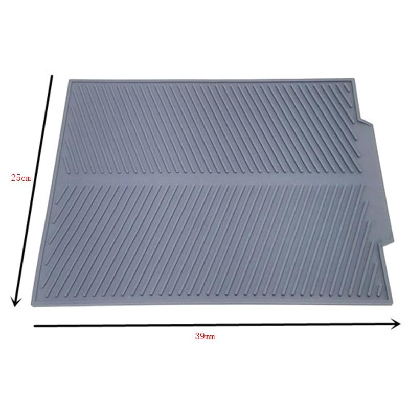 Silicone-Dish-Drying-Mat-Flume-Folding-Draining-Mat-Rectangle-Drain-Mat-B7C4 thumbnail 3