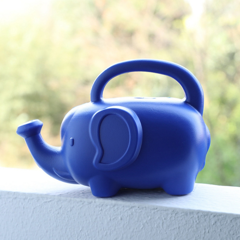 Plastic-Material-Watering-Kettle-Cartoon-Elephant-Shape-Watering-Kettle-Swe-A4P4 thumbnail 2