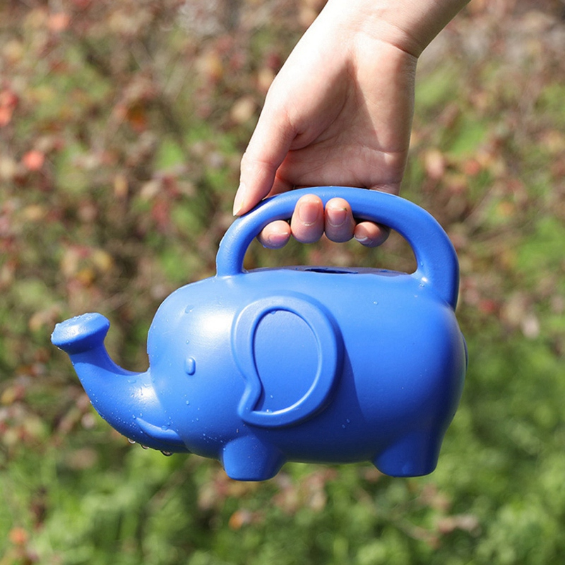 Plastic-Material-Watering-Kettle-Cartoon-Elephant-Shape-Watering-Kettle-Swe-A4P4 thumbnail 3