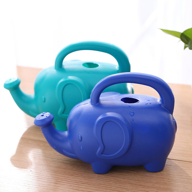 Plastic-Material-Watering-Kettle-Cartoon-Elephant-Shape-Watering-Kettle-Swe-A4P4 thumbnail 5