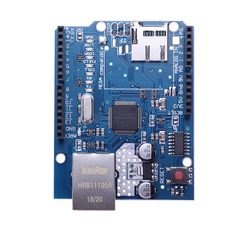 Ethernet Shield module W5100  Board For Arduino 2009 UNO Mega 1280 2560 M21