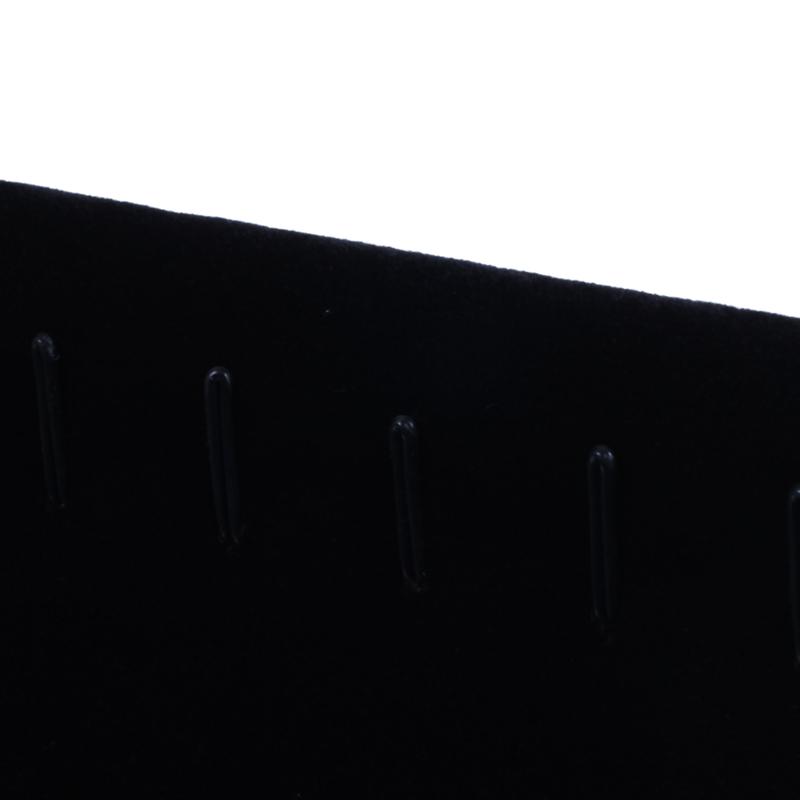 Indexbild 8 - 11 Haken Samt Schmuck Rack Ohrring Armband Halskette Veranstalter Halter Di O3H1