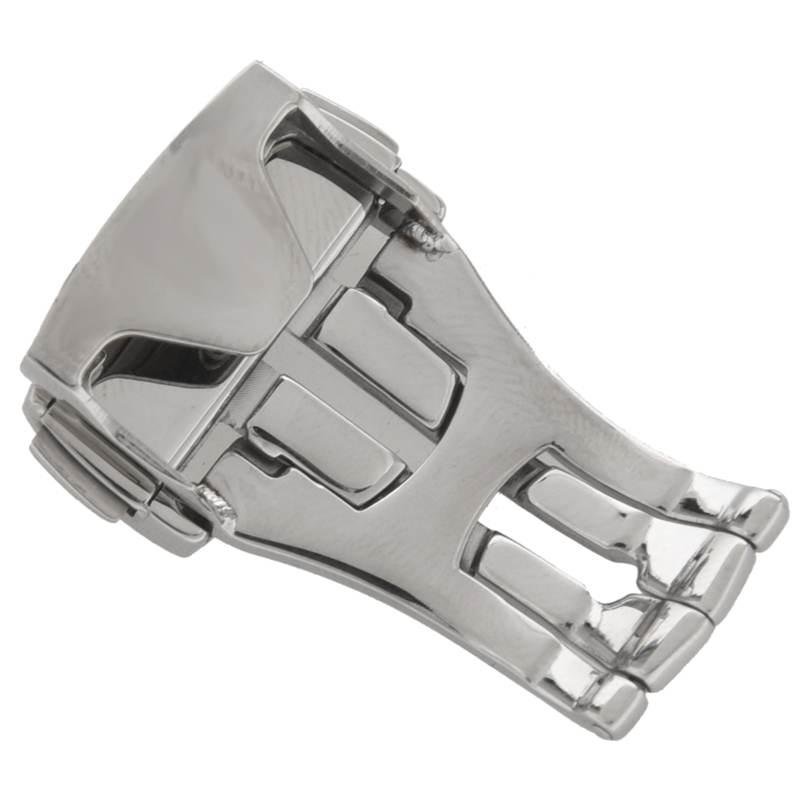 Stainless-Steel-Deployant-Watch-Strap-Folding-Buckle-Clasp-For-Omega-G4W5 thumbnail 6