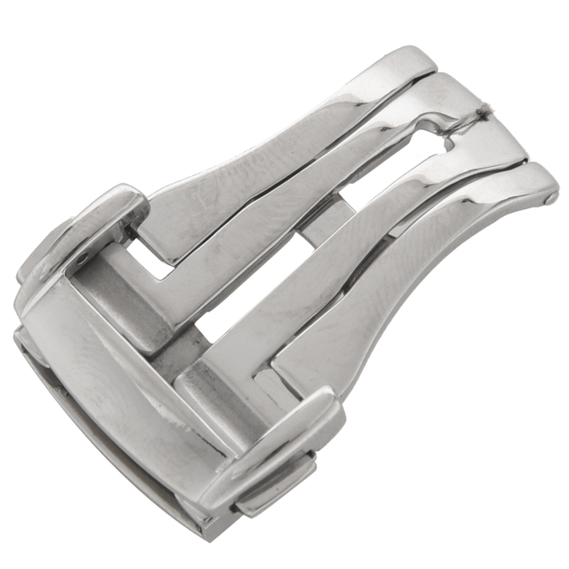 Stainless-Steel-Deployant-Watch-Strap-Folding-Buckle-Clasp-For-Omega-G4W5 thumbnail 7