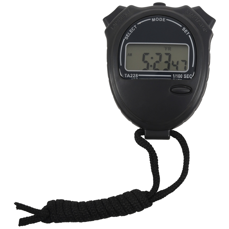 Digital LCD Cronometro Cronometro Professionale Cronografo