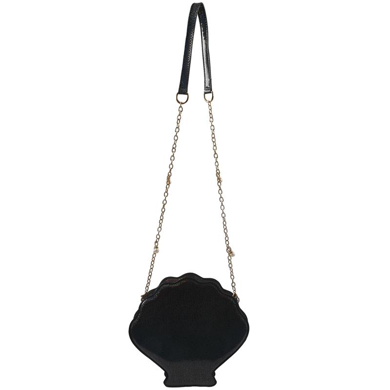 Frauen-Hologramm-Leder-Schale-Perle-Umhaengetaschen-Schultertasche-Handtasc-T1L6 Indexbild 4
