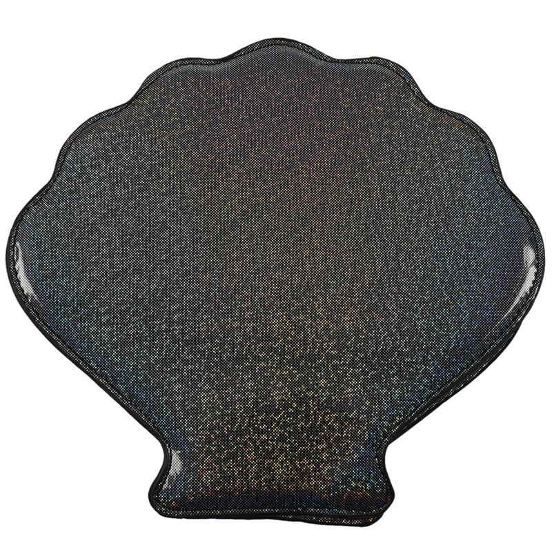 Frauen-Hologramm-Leder-Schale-Perle-Umhaengetaschen-Schultertasche-Handtasc-T1L6 Indexbild 6
