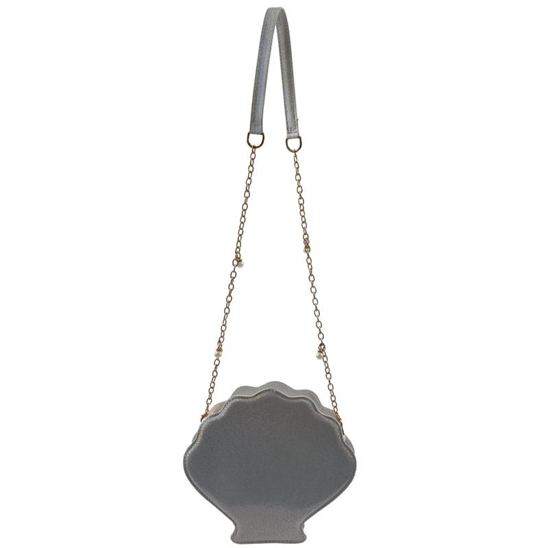 Frauen-Hologramm-Leder-Schale-Perle-Umhaengetaschen-Schultertasche-Handtasc-T1L6 Indexbild 12