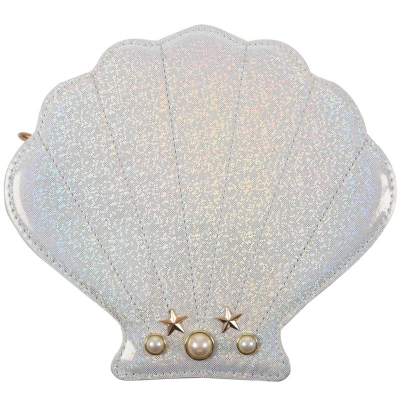 Frauen-Hologramm-Leder-Schale-Perle-Umhaengetaschen-Schultertasche-Handtasc-T1L6 Indexbild 13