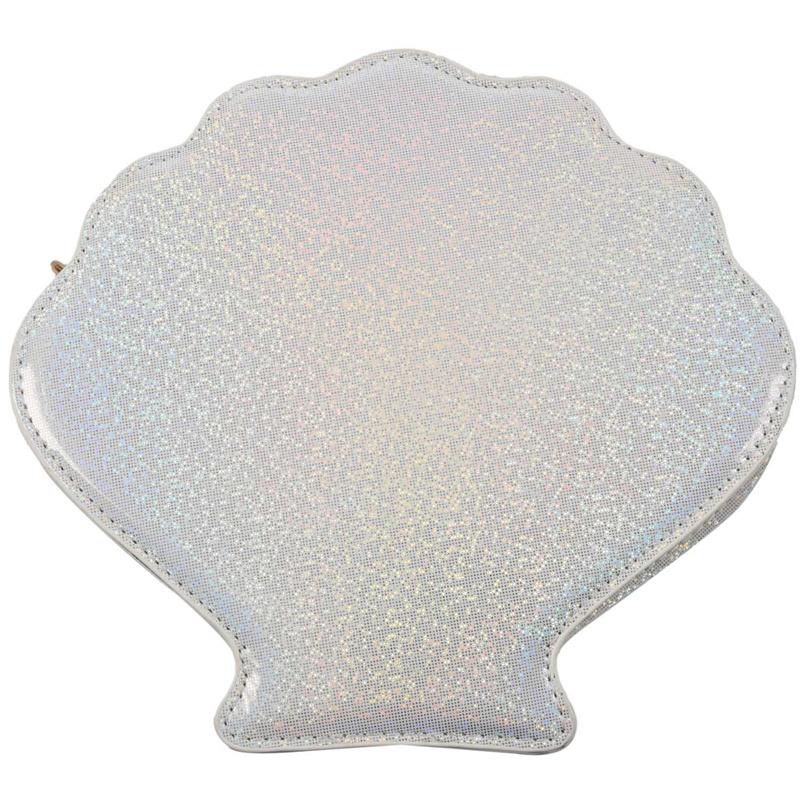 Frauen-Hologramm-Leder-Schale-Perle-Umhaengetaschen-Schultertasche-Handtasc-T1L6 Indexbild 14