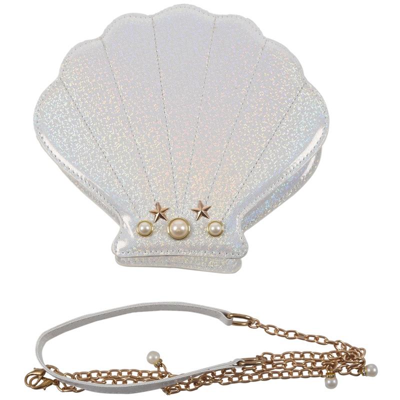 Frauen-Hologramm-Leder-Schale-Perle-Umhaengetaschen-Schultertasche-Handtasc-T1L6 Indexbild 16