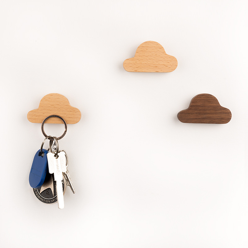 Magnetico-Llaves-de-Pared-Ganchos-Decorativos-Clave-Llaveros-Llave-Colgante-H9G3 miniatura 3