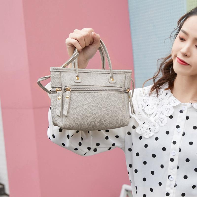 Handtasche-Mode-Neue-Qualitaet-PU-Leder-Damen-Tasche-Kontrast-Damen-Handtasc-A2Z6 Indexbild 12