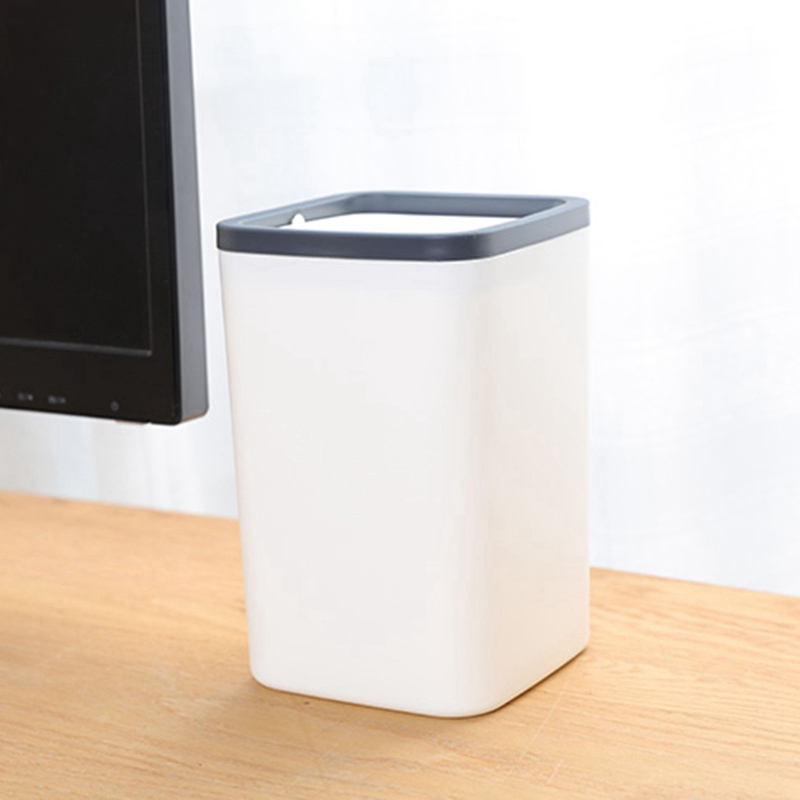 1X-Abfall-Behaelter-Kleiner-Muell-Eimer-Mini-Desktop-Ashcan-Tabletop-Trash-BoN7T6 Indexbild 9