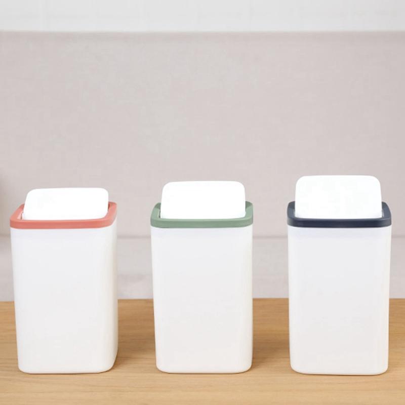1X-Abfall-Behaelter-Kleiner-Muell-Eimer-Mini-Desktop-Ashcan-Tabletop-Trash-BoN7T6 Indexbild 15
