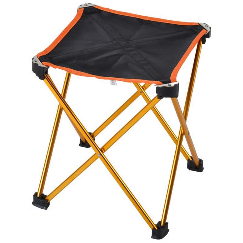 10X(Outdoor Sports Camping Folding Chair 6061 Aluminum Folding Fishing Chai O6H5