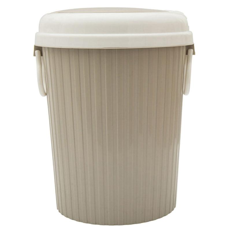 Portable-Trash-Can-Clamshell-Kitchen-Trash-Can-Soggiorno-Bagno-Trash-Cachi-R8V2