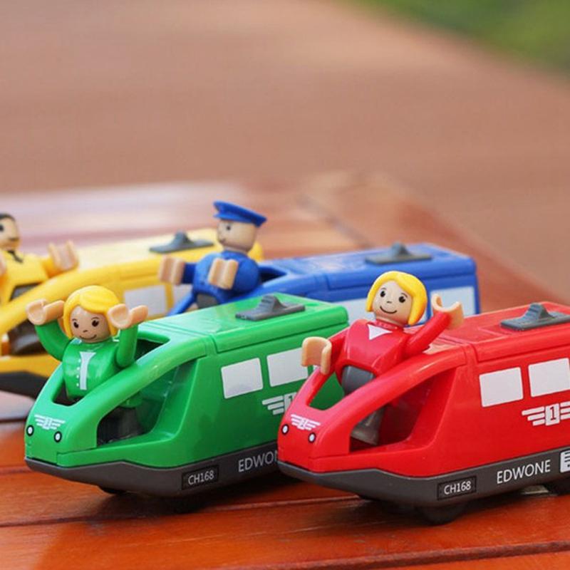 Juguetes-Tren-Electrico-Para-Ninos-Juguete-Vehiculo-Electronico-Fundido-A-Pr-u2O miniatura 3
