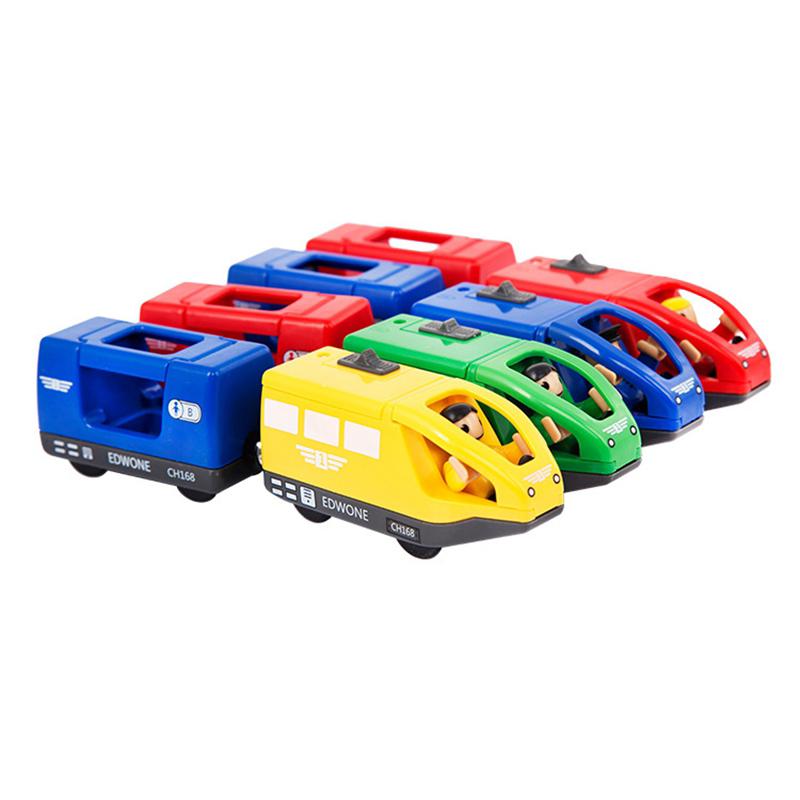 Juguetes-Tren-Electrico-Para-Ninos-Juguete-Vehiculo-Electronico-Fundido-A-Pr-u2O miniatura 4