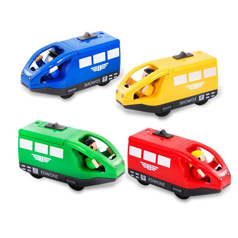 Juguetes-Tren-Electrico-Para-Ninos-Juguete-Vehiculo-Electronico-Fundido-A-Pr-u2O miniatura 7