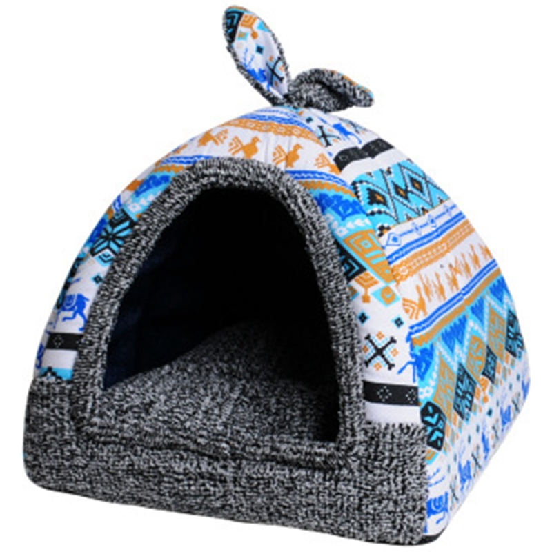 KIMPETS-Pet-Dog-Bed-amp-Sofa-House-For-Dogs-House-Soft-Dog-Nest-Kennel-For-Pu-U1D6 thumbnail 14