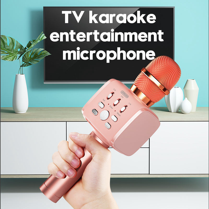 Joyroom-Mc3-Inalambrico-Karaoke-Microfono-Bluetooth-10W-Altavoz-2-En-1-De-M-I8F5 miniatura 7