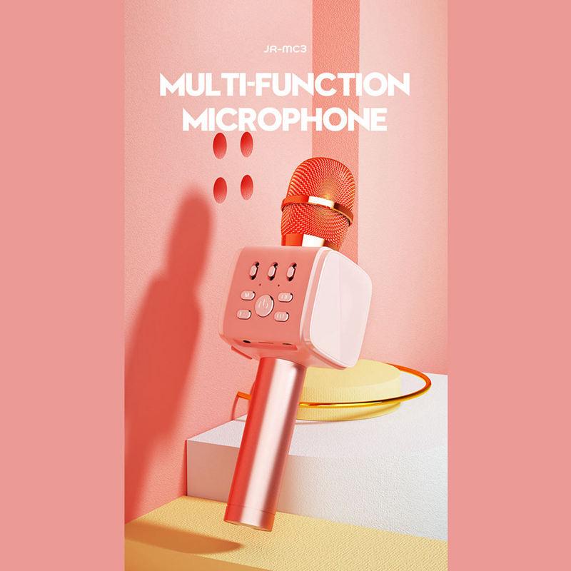 Joyroom-Mc3-Inalambrico-Karaoke-Microfono-Bluetooth-10W-Altavoz-2-En-1-De-M-I8F5 miniatura 8