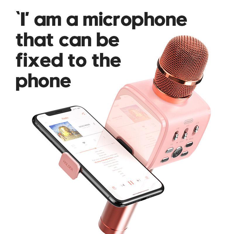 Joyroom-Mc3-Inalambrico-Karaoke-Microfono-Bluetooth-10W-Altavoz-2-En-1-De-M-I8F5 miniatura 14