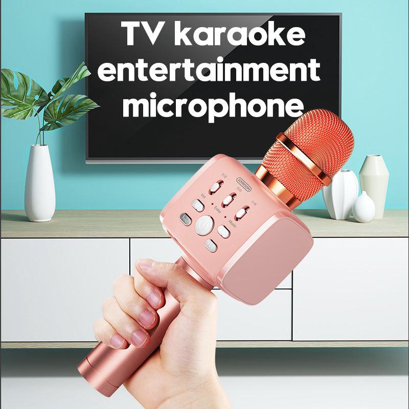 Joyroom-Mc3-Inalambrico-Karaoke-Microfono-Bluetooth-10W-Altavoz-2-En-1-De-M-I8F5 miniatura 17