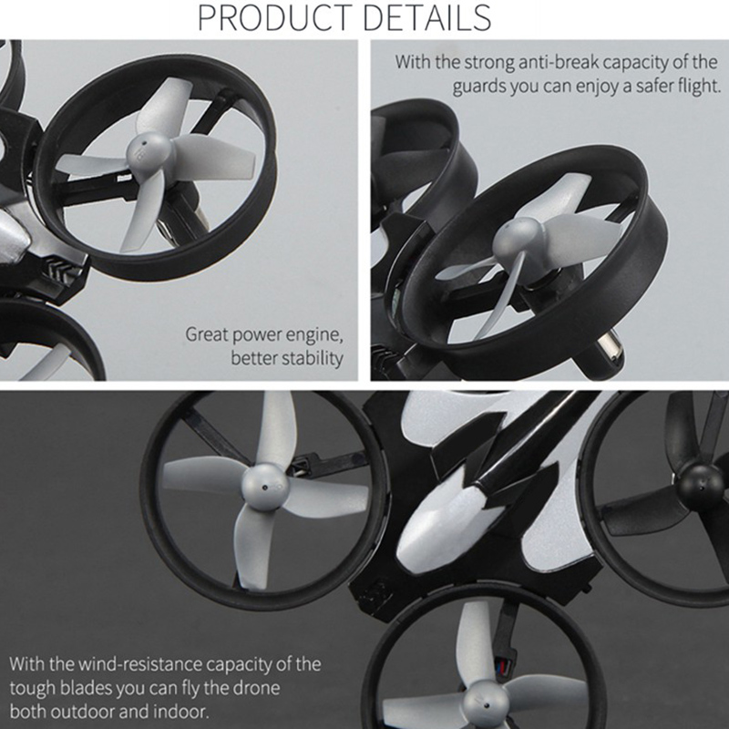 Global-Drone-Mini-Four-Axis-Aircraft-Mini-Remote-Control-Aircraft-One-Butto-S1J8 thumbnail 9