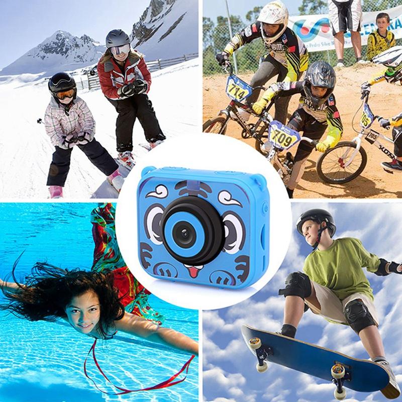 Ninos-Lindos-Camara-De-Video-Digital-Accion-De-1080P-Camara-Deportiva-30-M-C4Y8 miniatura 7