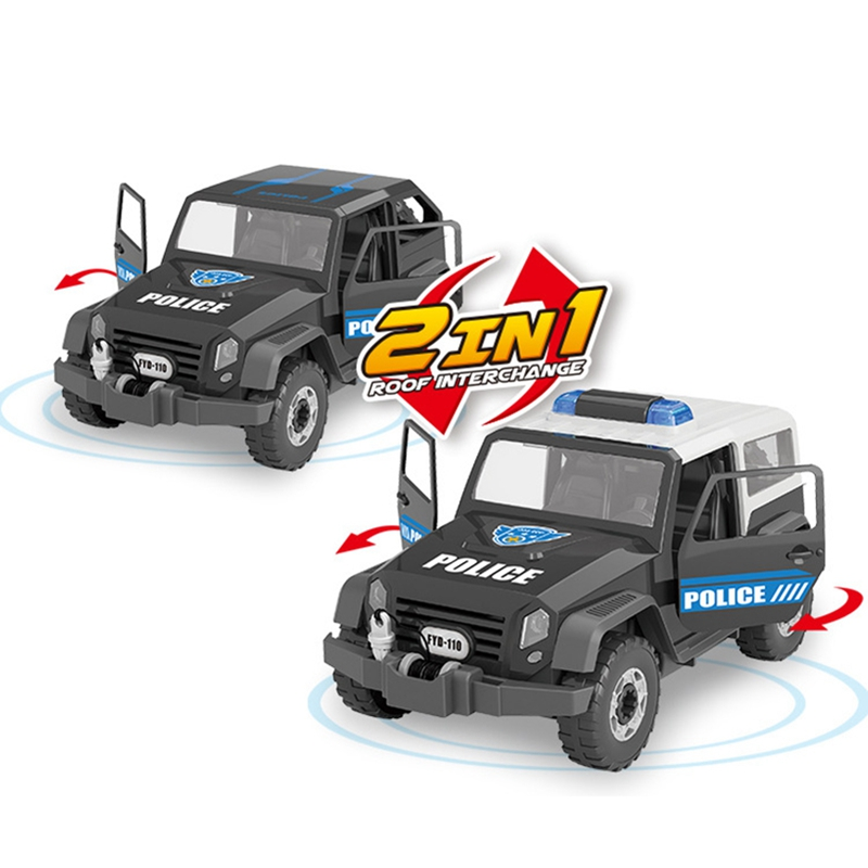 Detachable-Loading-And-Unloading-Nut-Assembling-Combination-Puzzle-Jeep-Outd-5D4 thumbnail 6